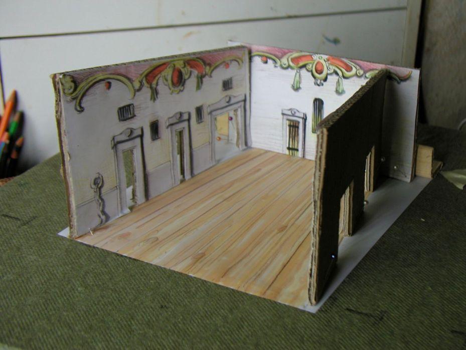 Set design maquette