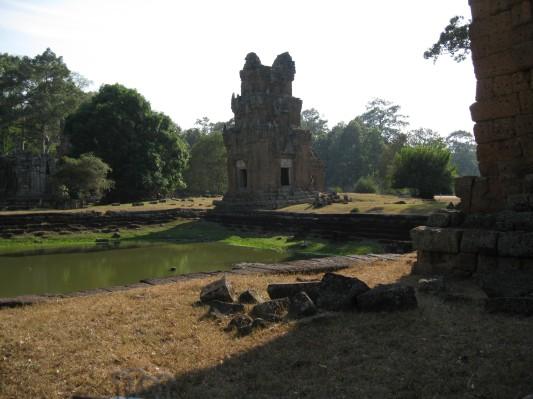 Near Angkor Thom, Angkor, Cambodia