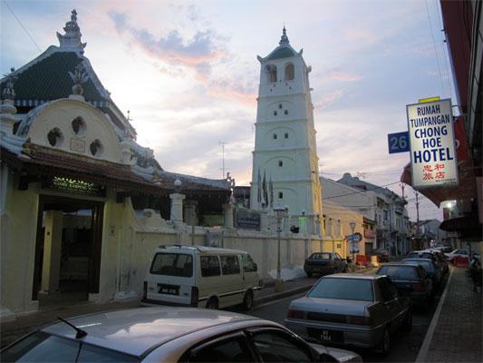 Mosque in Malacca, Malaysia