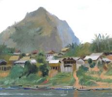 Across the River, Nong Khiaw, Laos