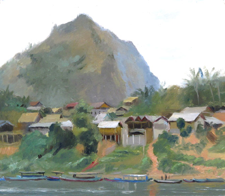 Across the River, Nong Khiaw, Laos