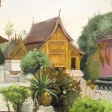 Buddhist Wat, Laos