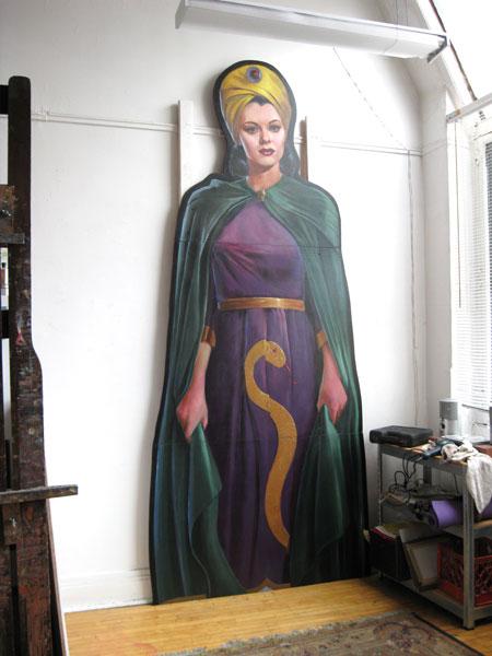 Vultura Installation in My Studio