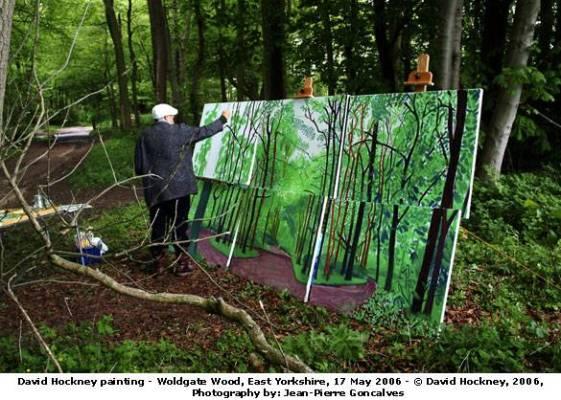 David Hockney Woldgate Wood