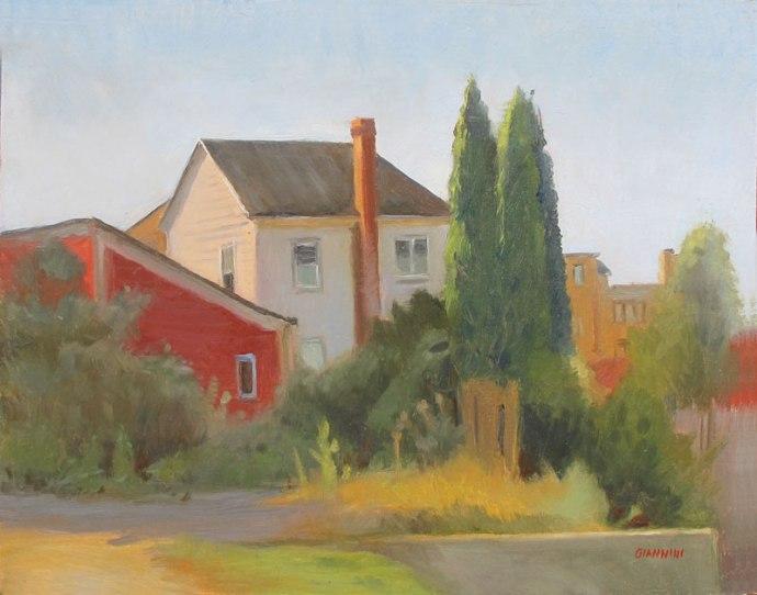 Portland Corner, 11 x 14 in, oil on canvas