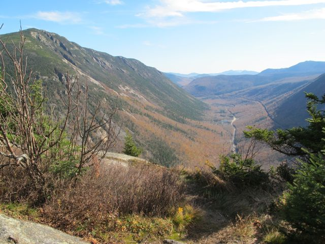 Crawford Notch from Mt.Willard