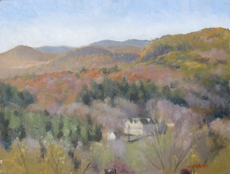 New Hampshire Fall, 9 x 12 in.