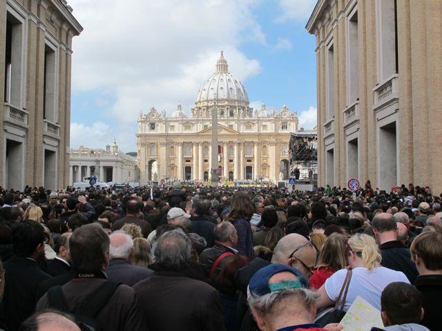San Pietro, Roma, Easter 2013