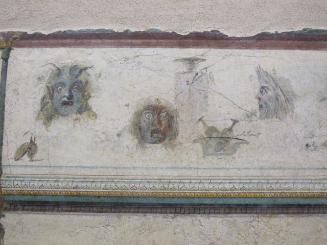 Frescoe detail at the Palazzo Massimo alle Terme #4