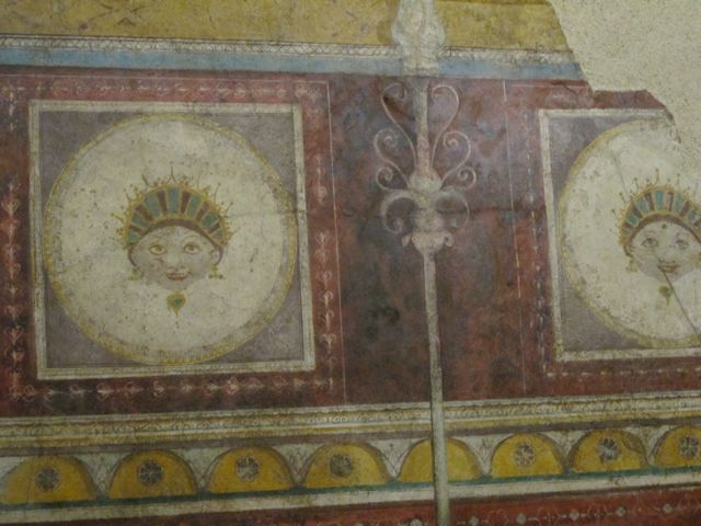 Fresco detail  at the Palazzo Massimo,Rome. #2