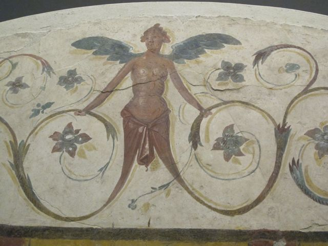 Fresco detail  at the Palazzo Massimo,Rome. #1