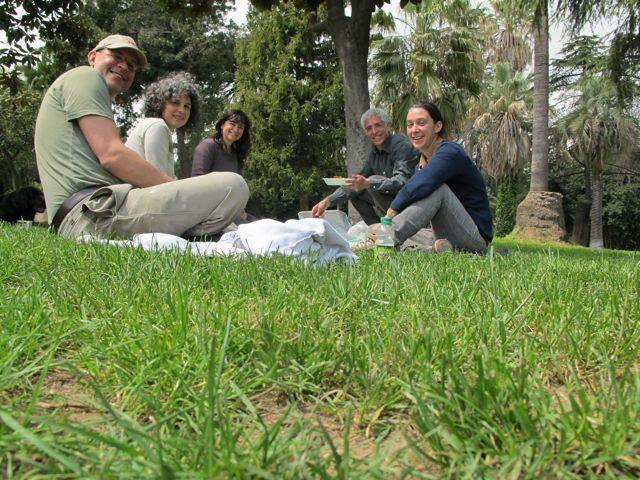 Villa Sciara picnic.