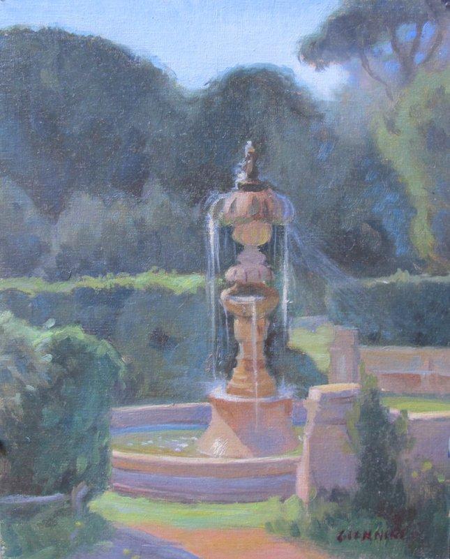Una-Fontana-di-Villa-Pamphi
