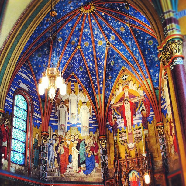 The Cathedral of the Madeleine is a Roman Catholic church in Salt Lake City, Utah