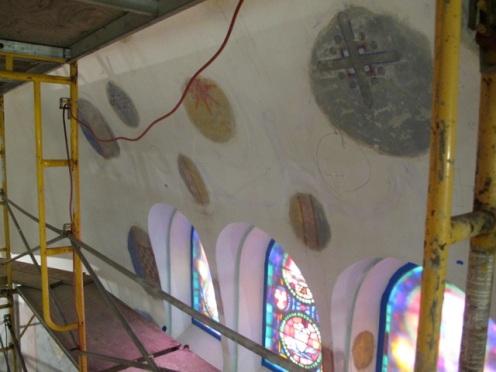 Exposure windows at St. Aloysius