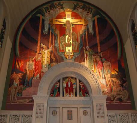 St. Columba in Johnstown, Pennsylvania.