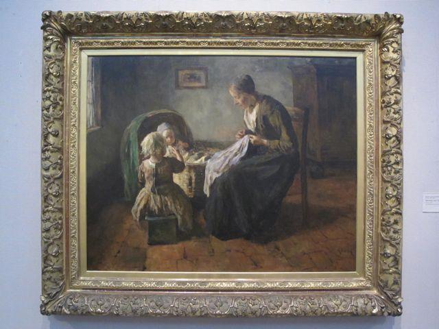 Mother and Daughter, Jacob Simon Hendrik Kever
