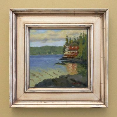 Little deer Isle, Maine, Framed view