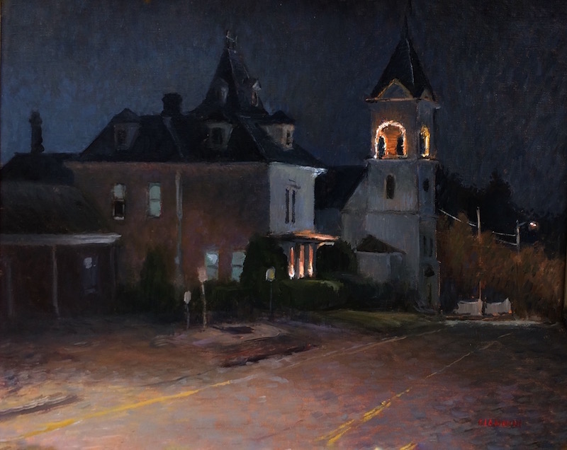 Waldoboro-Church-Nocturne-Stephan-Giannini