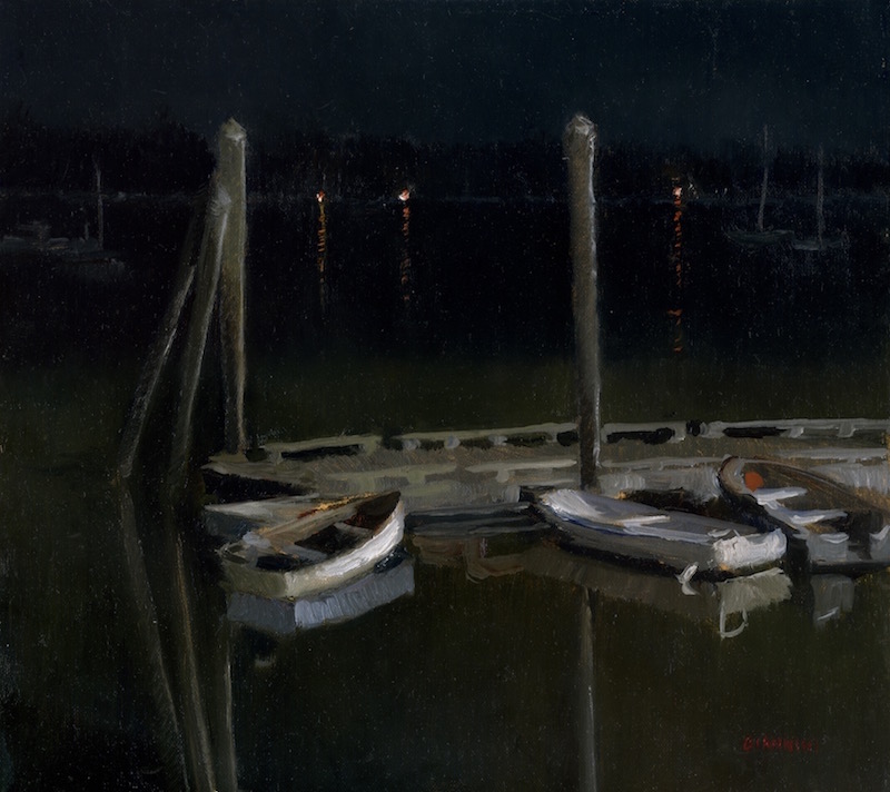 Wiscasset-Marina-Night-Stephan-Giannini