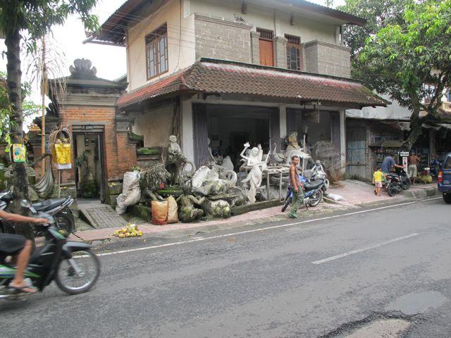 Sculpture Shop, Bali