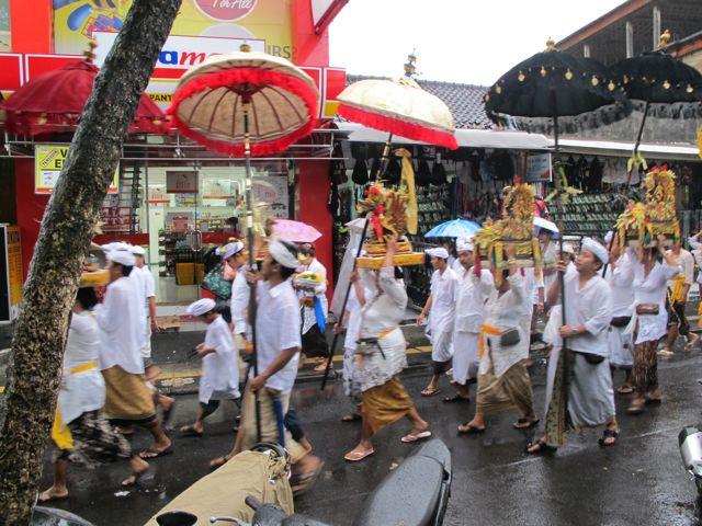 Balinese Pre-New Year Parade