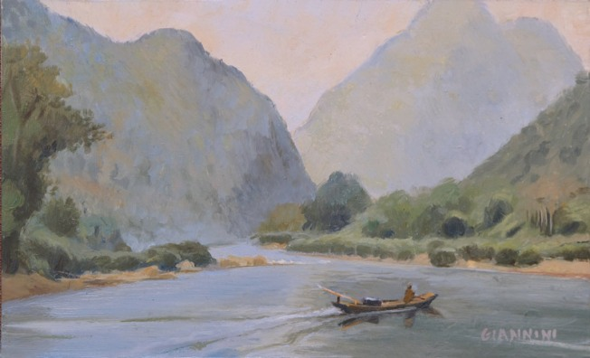 A River In Laos